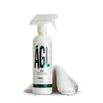 Glass Kit - cleaner spray and specialist glass cleaning cloth