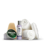 Polish and Wax Kit - polish, wax, applicators and buffing cloths