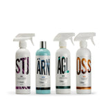 More Four Kit - wheel cleaner, tyre/trim dressing, glass cleaner, tar/bug remover