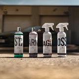 shampoo, polish, quick detailer, gloss, sealant,