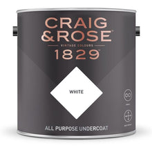 Load image into Gallery viewer, Craig & Rose All Purpose Undercoat White (750ml) - Buy Paint Online