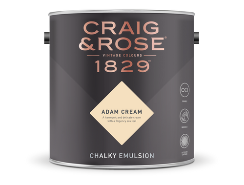 Craig & Rose 1829 Chalky Emulsion (5L) - Buy Paint Online