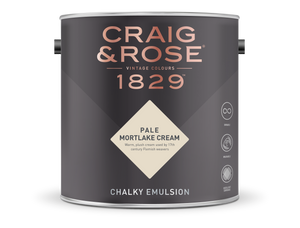 Craig & Rose 1829 Chalky Emulsion (2.5L) - Buy Paint Online