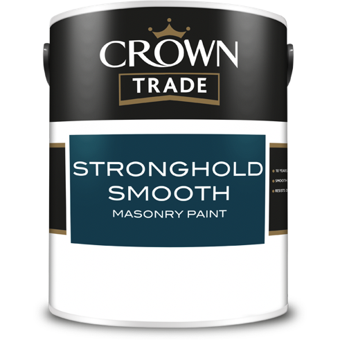 Crown Stronghold Smooth Masonry Paint - Buy Paint Online