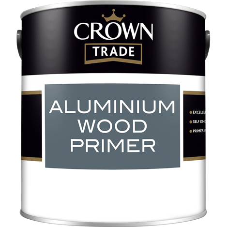 Crown Trade Aluminium Wood Primer Paint - Buy Paint Online