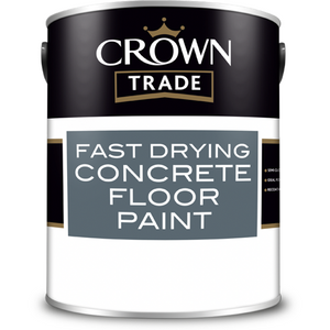Crown Trade Fast Drying Concrete Floor Paint - Buy Paint Online
