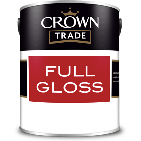Crown Trade Full Gloss Paint - Buy Paint Online