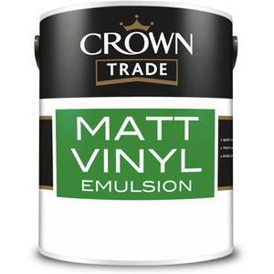 Crown Trade Matt Vinyl Emulsion Paint - Buy Paint Online