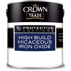 Crown Trade Protective Coating High Build Micaceous Iron Oxide Paint - Buy Paint Online
