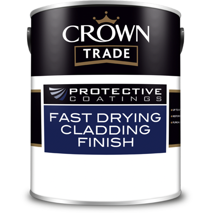 Crown Trade Protective Coatings Fast Drying Cladding Finish Paint - Buy Paint Online