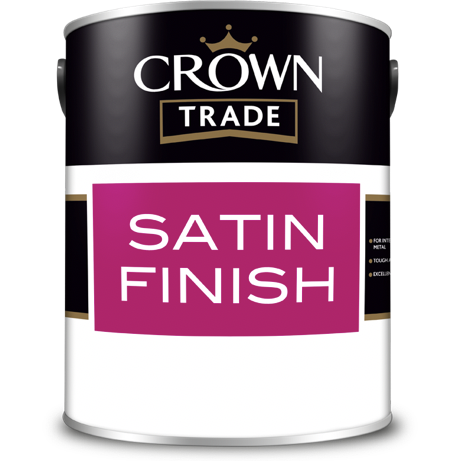 Crown Trade Satin Finish Paint - Buy Paint Online