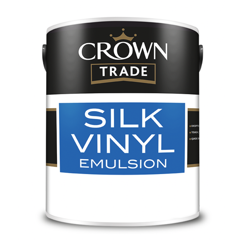 Crown Trade Silk Vinyl Emulsion Paint - Buy Paint Online
