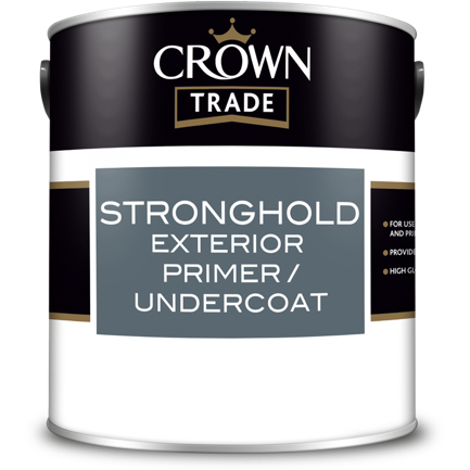 Crown Trade Stronghold Exterior Primer/Undercoat | Buy Paint Online
