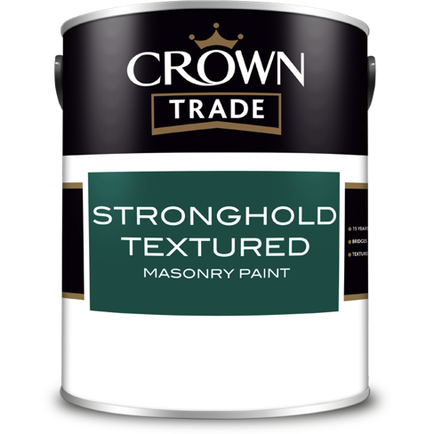 Crown Trade Stronghold Textured Masonry Paint | Buy Paint Online
