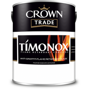 Crown Trade Timonox Anti Graffiti Flame Retardant Glaze Paint - Buy Paint Online