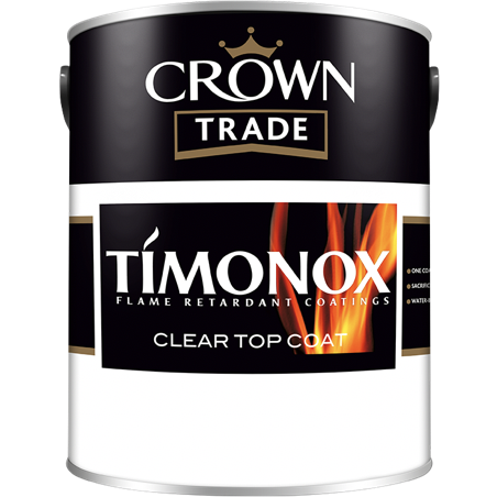 Crown Trade Timonox Clear Top Coat Paint - Buy Paint Online