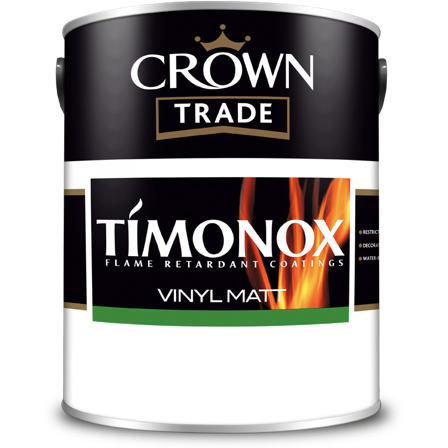 Crown Trade Timonox Vinyl Matt Paint - Buy Paint Online