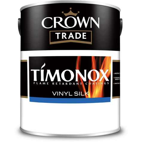Crown Trade Timonox Vinyl Silk Paint | Buy Paint Online