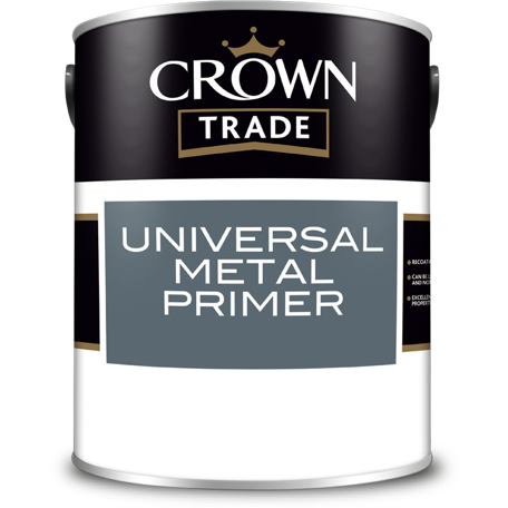 Crown Trade Universal Metal Primer - Buy Paint Online