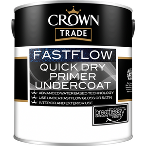 Crown Trade Fastflow Quick Dry Primer Undercoat Paint - Buy Paint Online