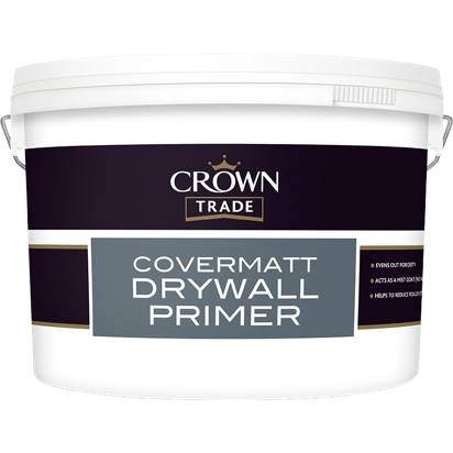 Crown Trade Covermatt Drywall Primer - Buy Paint Online