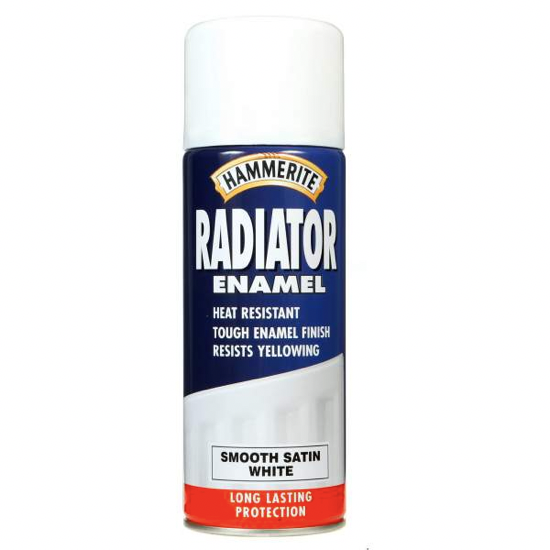 Hammerite Enamel Radiator Spray - Buy Paint Online