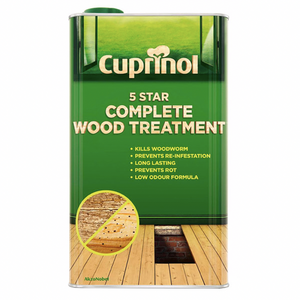 Cuprinol 5 Star Complete Wood Treatment (WB) - Buy Paint Online