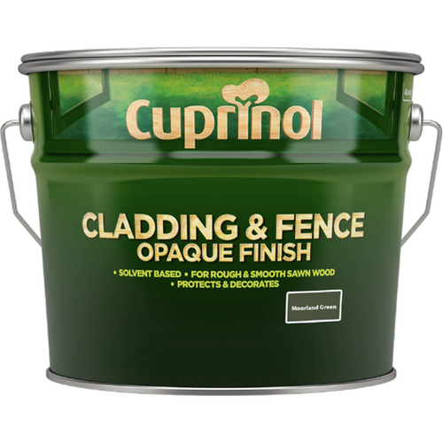Cuprinol Cladding and Fence Opaque Finish - Buy Paint Online