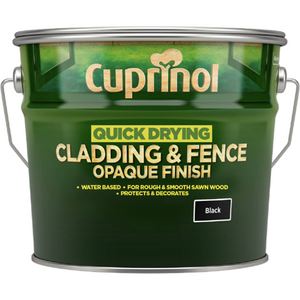 Cuprinol Quick Drying Cladding and Fence Opaque Finish - Buy Paint Online