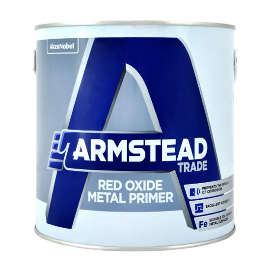 Armstead Trade Red Oxide Primer - Buy Paint Online