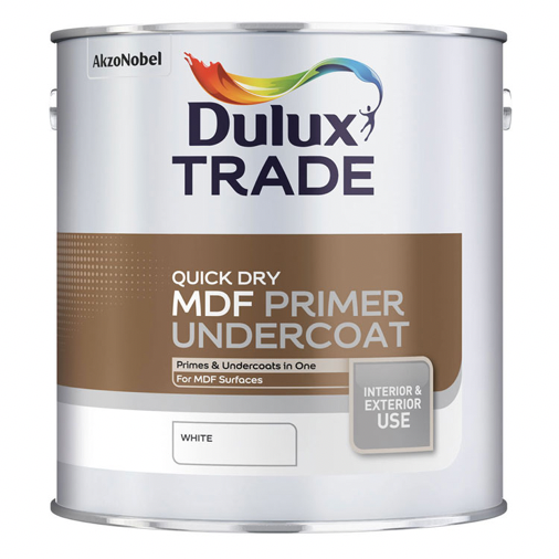 Dulux Quick Dry MDF Primer Undercoat - Buy Paint Online