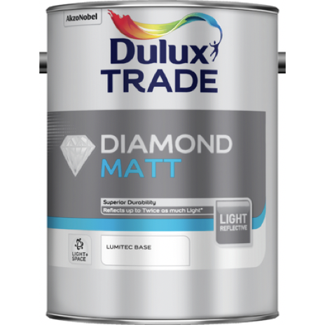 Dulux Trade Matt Light & Space - Buy Paint Online