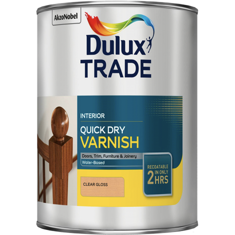 Dulux Trade Quick Dry Varnish - Buy Paint Online