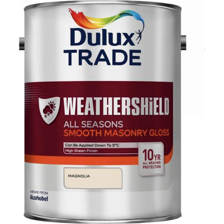 Dulux Weathershield All Seasons Smooth Masonry Gloss - Buy Paint Online