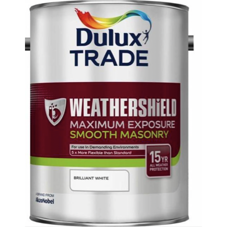 Dulux Weathershield Maximum Exposure Smooth Masonry - Buy Paint Online