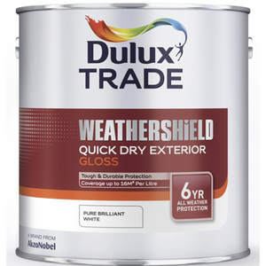 Dulux Weathershield Quick Dry Exterior Gloss - Buy Paint Online