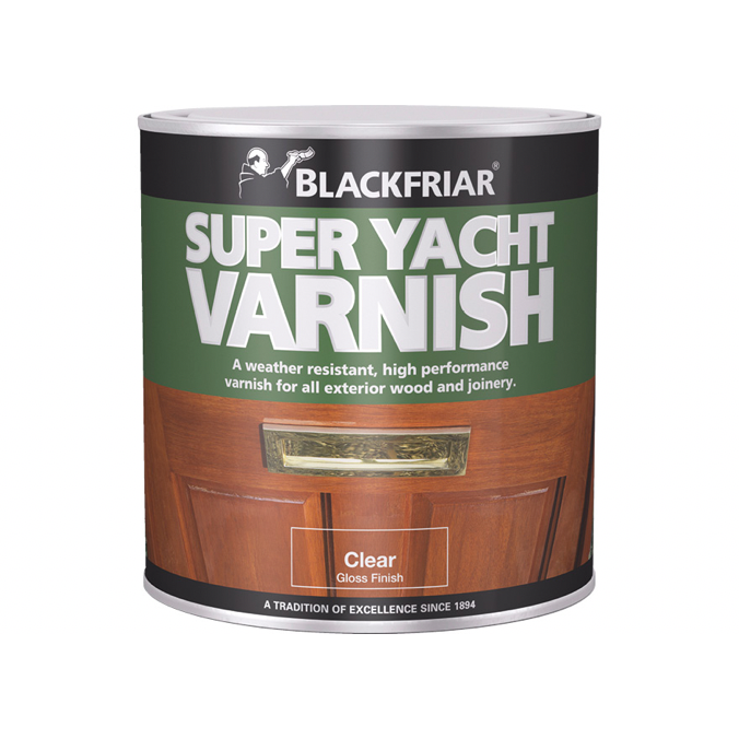 Blackfriar Super Yacht Varnish - Buy Paint Online