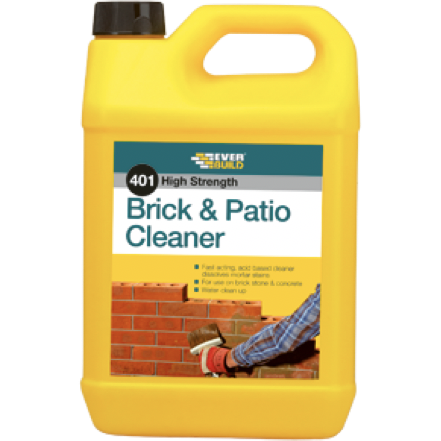 Everbuild 401 Brick & Patio Cleaner (5L) - Buy Paint Online