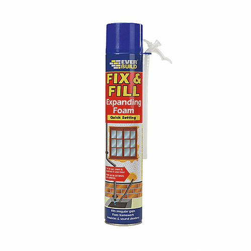 Everbuild Fix & Fill Expanding Foam - Buy Paint Online