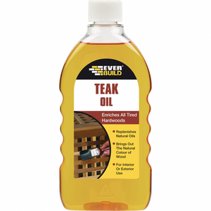 Everbuild Teak Oil - Buy Paint Online