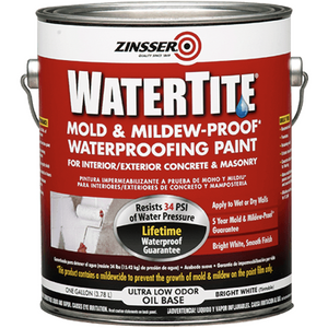 Zinsser Watertite Waterproofing Paint - Buy Paint Online