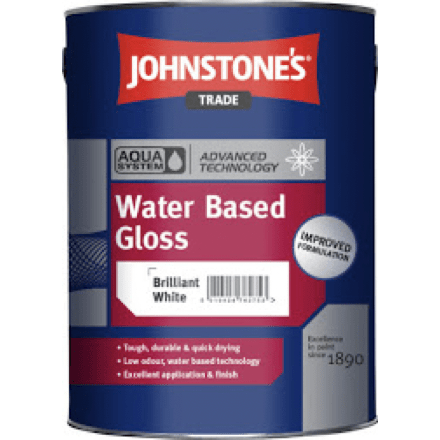 Johnstones Aqua Water Based Gloss - Buy Paint Online