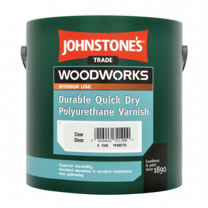Johnstones Durable Quick Dry Polyurethane Varnish - Buy Paint Online