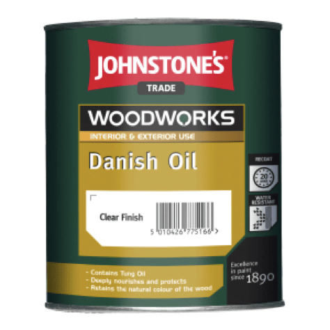 Johnstones Danish Oil - Buy Paint Online