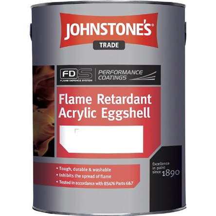 Johnstones Flame Retardant Acrylic Eggshell - Buy Paint Online
