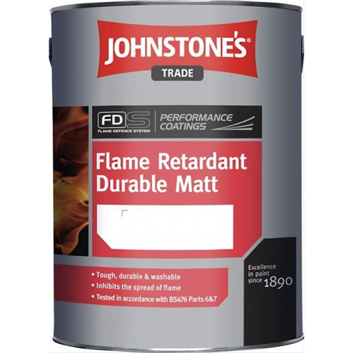 Johnstones Flame Retardant Durable Matt Paint - Buy Paint Online