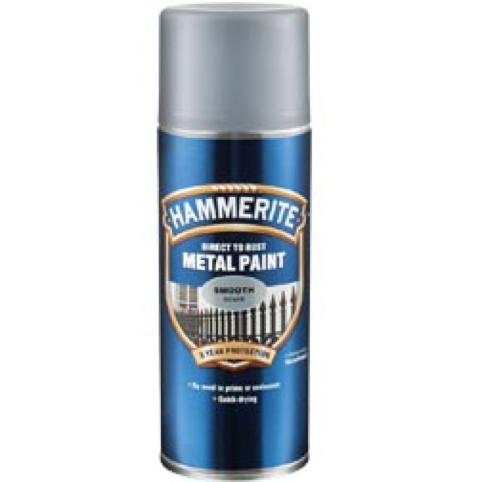Hammerite Direct to Rust Metal Paint Aerosol Smooth Finish - Buy Paint Online