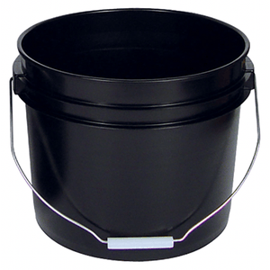 3 Gallon Black Bucket - Buy Paint Online