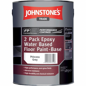 Johnstones 2 Pack Epoxy Water Based Floor Paint - Buy Paint Online