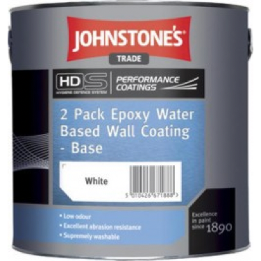 Johnstones 2 Pack Epoxy Water Based Wall Coating - Buy Paint Online